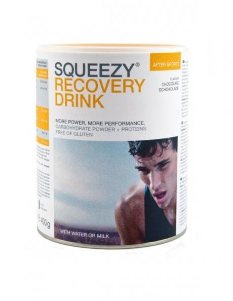 SQUEEZY Напиток для восстановленияPROTEIN ENERGY DRINK шоколад,400г Артикул: PU0018