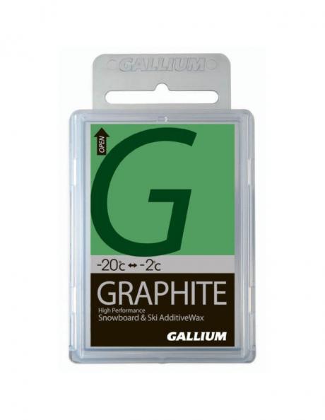 GALLIUM Добавка на основе графита Graphite Glide Wax Артикул: SW2021
