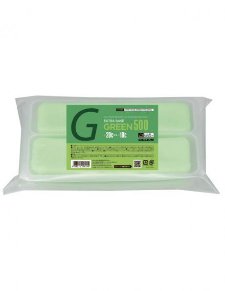 GALLIUM Парафин Extra Base Green Wax, 500 г Артикул: SW2081