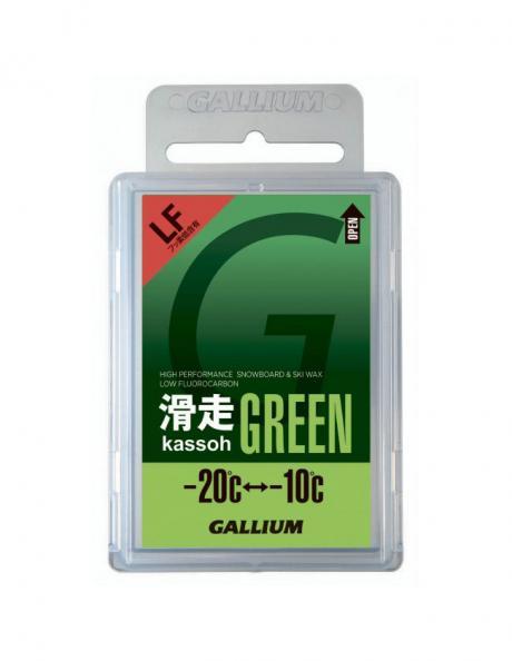 GALLIUM Низкофторовый парафин AXS, зеленый Артикул: SW2123