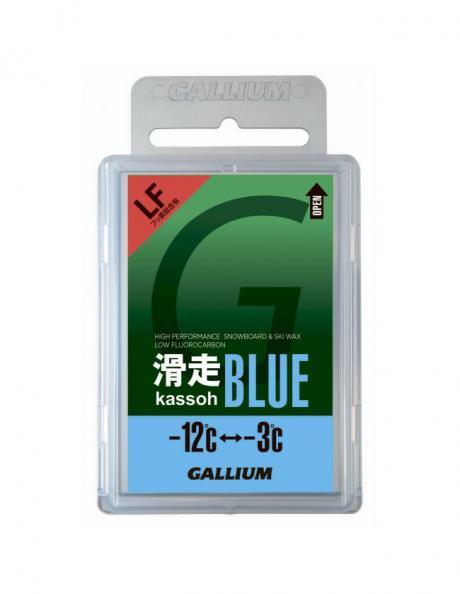 GALLIUM Низкофторовый парафин AXS, синий Артикул: SW2124
