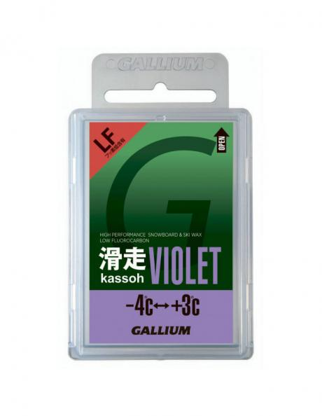GALLIUM Низкофторовый парафин AXS, фиолетовый Артикул: SW2125