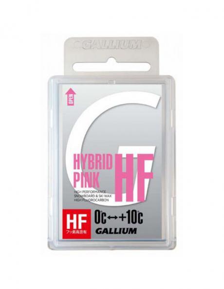 GALLIUM Высокофторовый парафин HYBRID HF PINK Артикул: SW2153