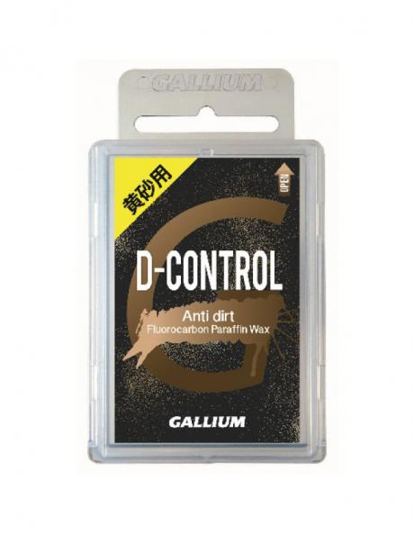 GALLIUM Высокофторовый парафин для грязного снега D-CONTROL Артикул: SW2173