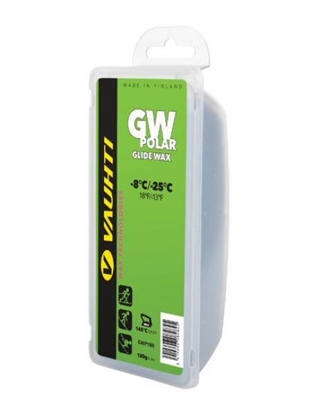 VAUHTI Парафин GW POLAR (-8/-25), 540 г Артикул: GWP540