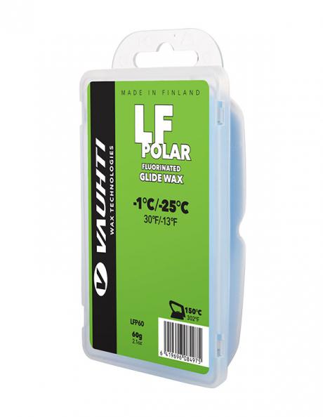 VAUHTI Парафин низкофтористый LF POLAR (-1/-25), 60 г Артикул: LFP60